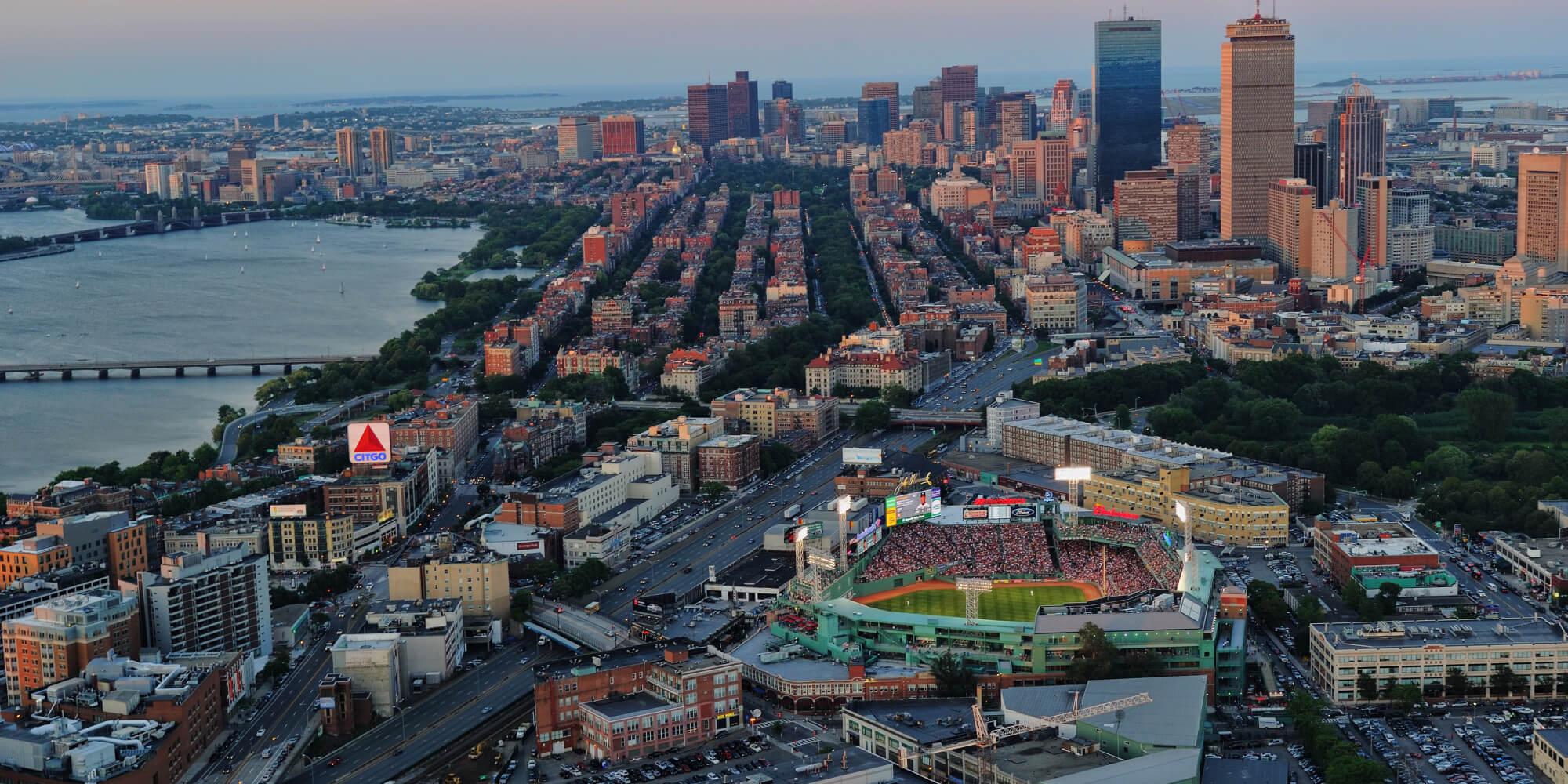 Φθηνές πτήσεις προς Βοστώνη