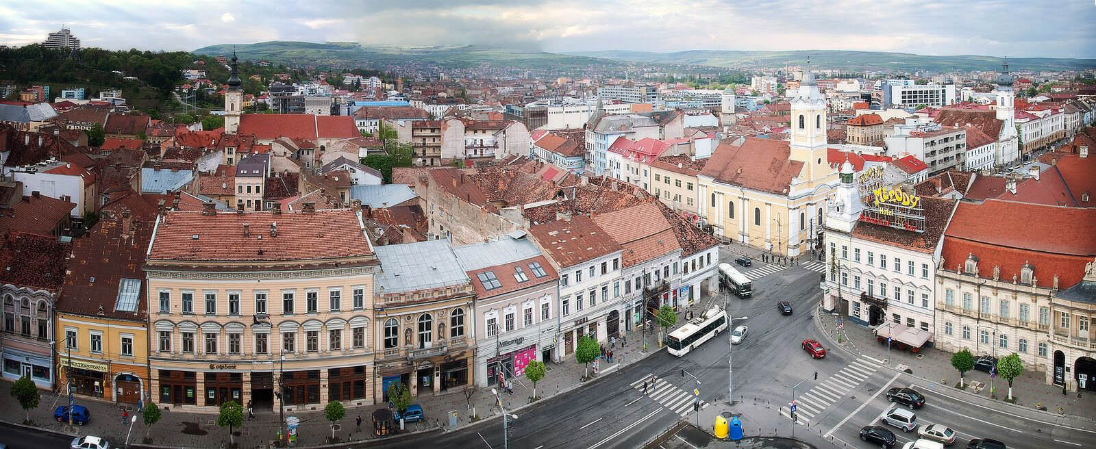 Φθηνές πτήσεις προς Cluj