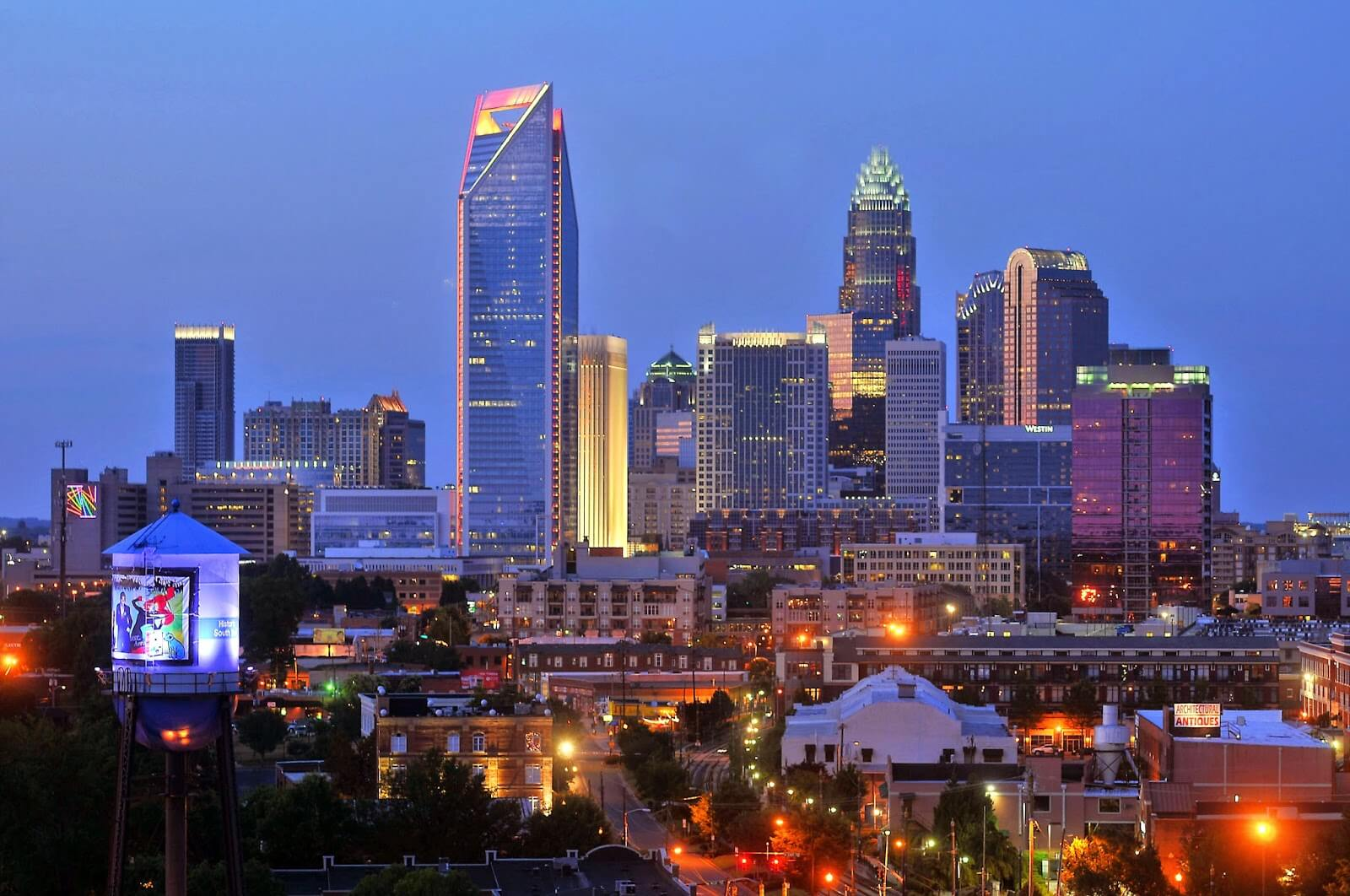 Cheap flights to Charlotte
