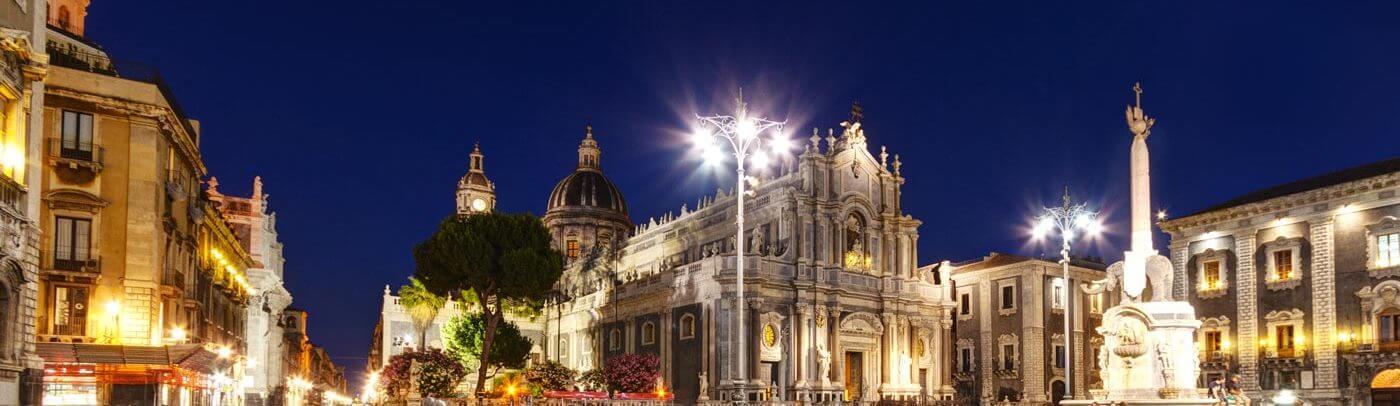 Cheap flights to Catania