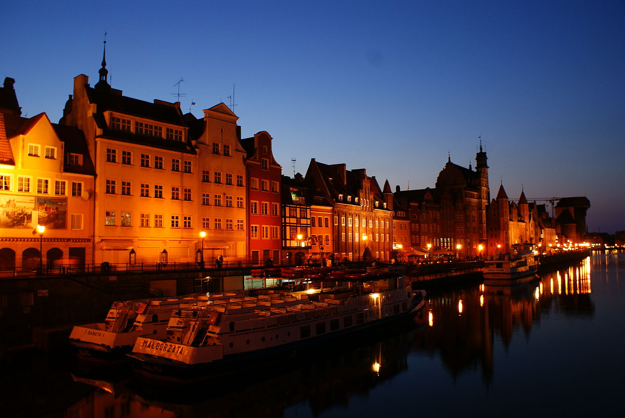 Cheap flights to Gdansk