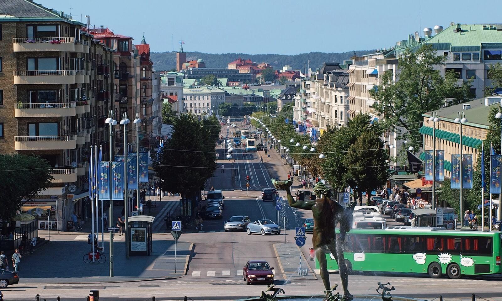 Φθηνές πτήσεις προς Gothenburg