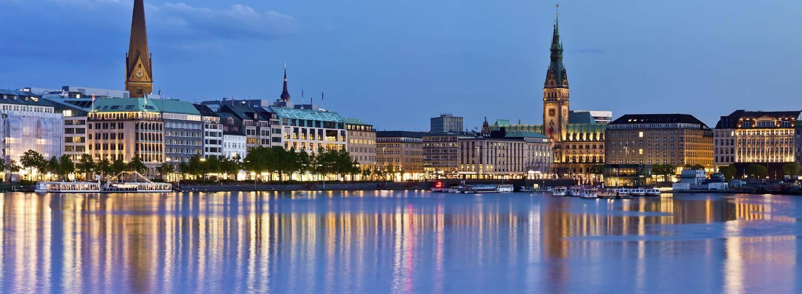 Cheap flights to Hamburg