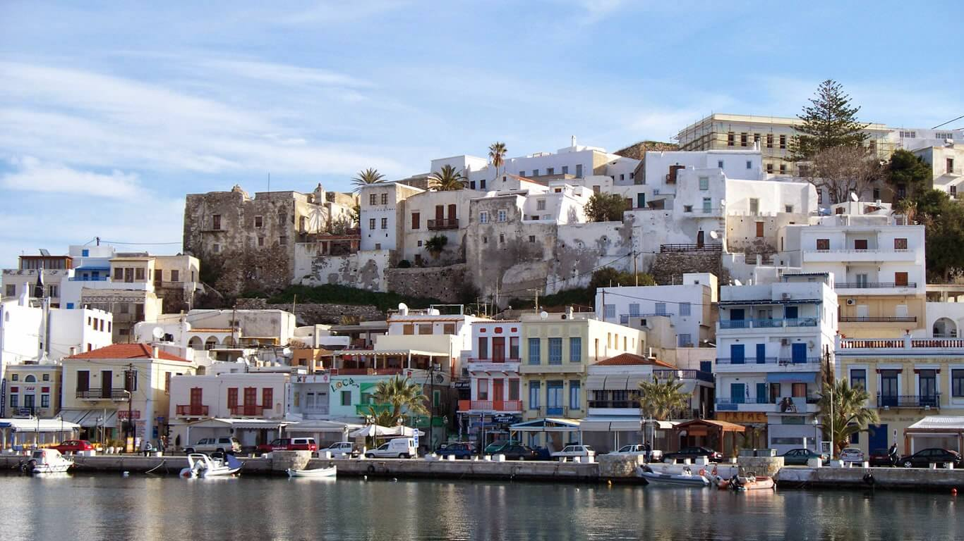 Cheap flights to Naxos