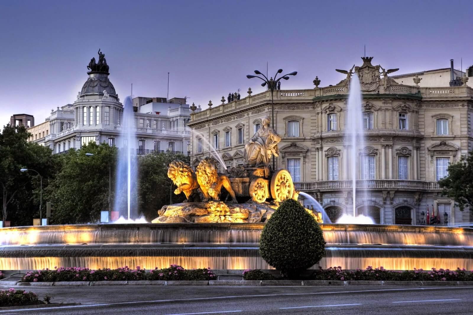 Φθηνές πτήσεις από Μαδρίτη