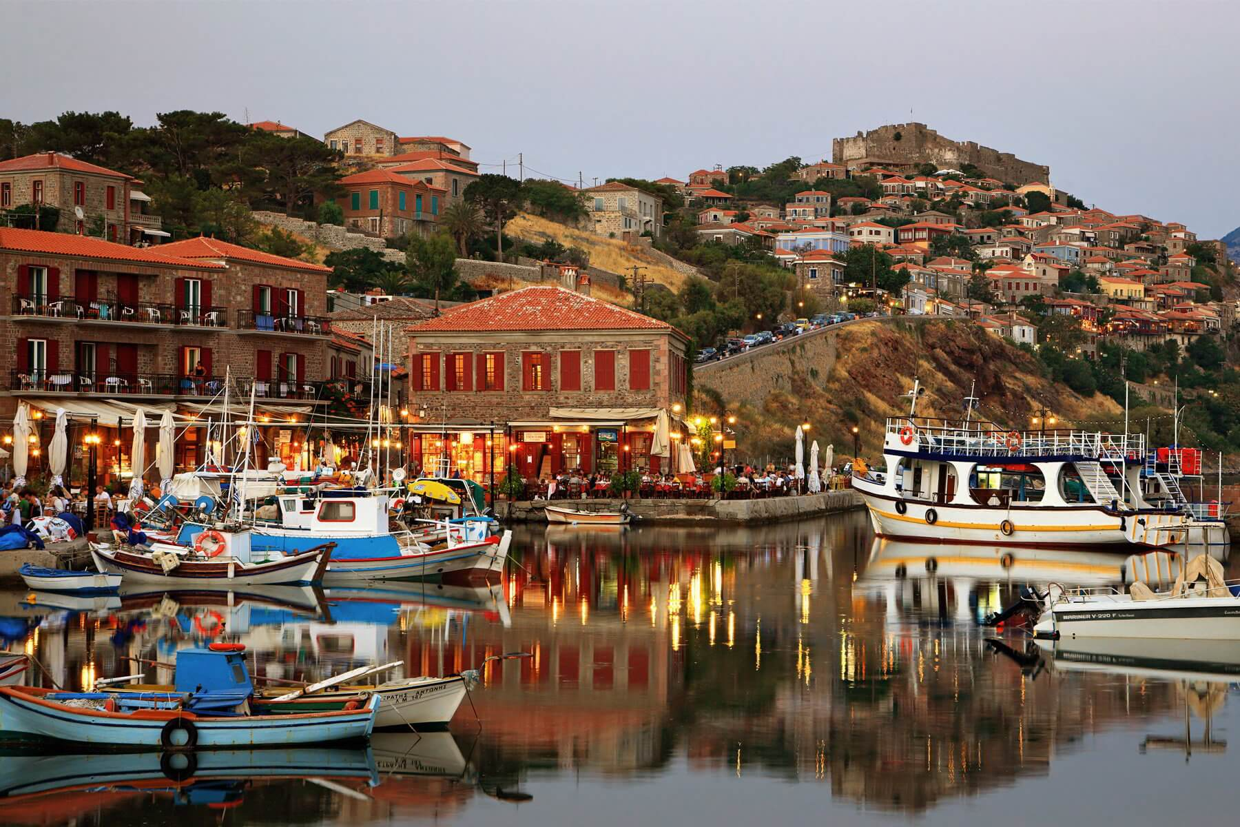 Cheap flights to Mytilene