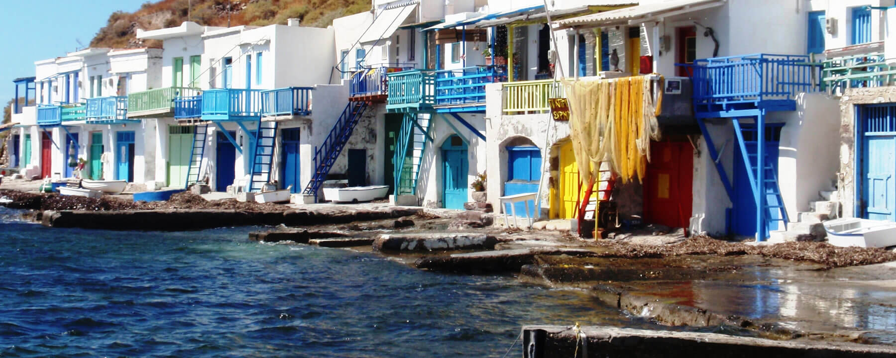 Cheap flights to Milos