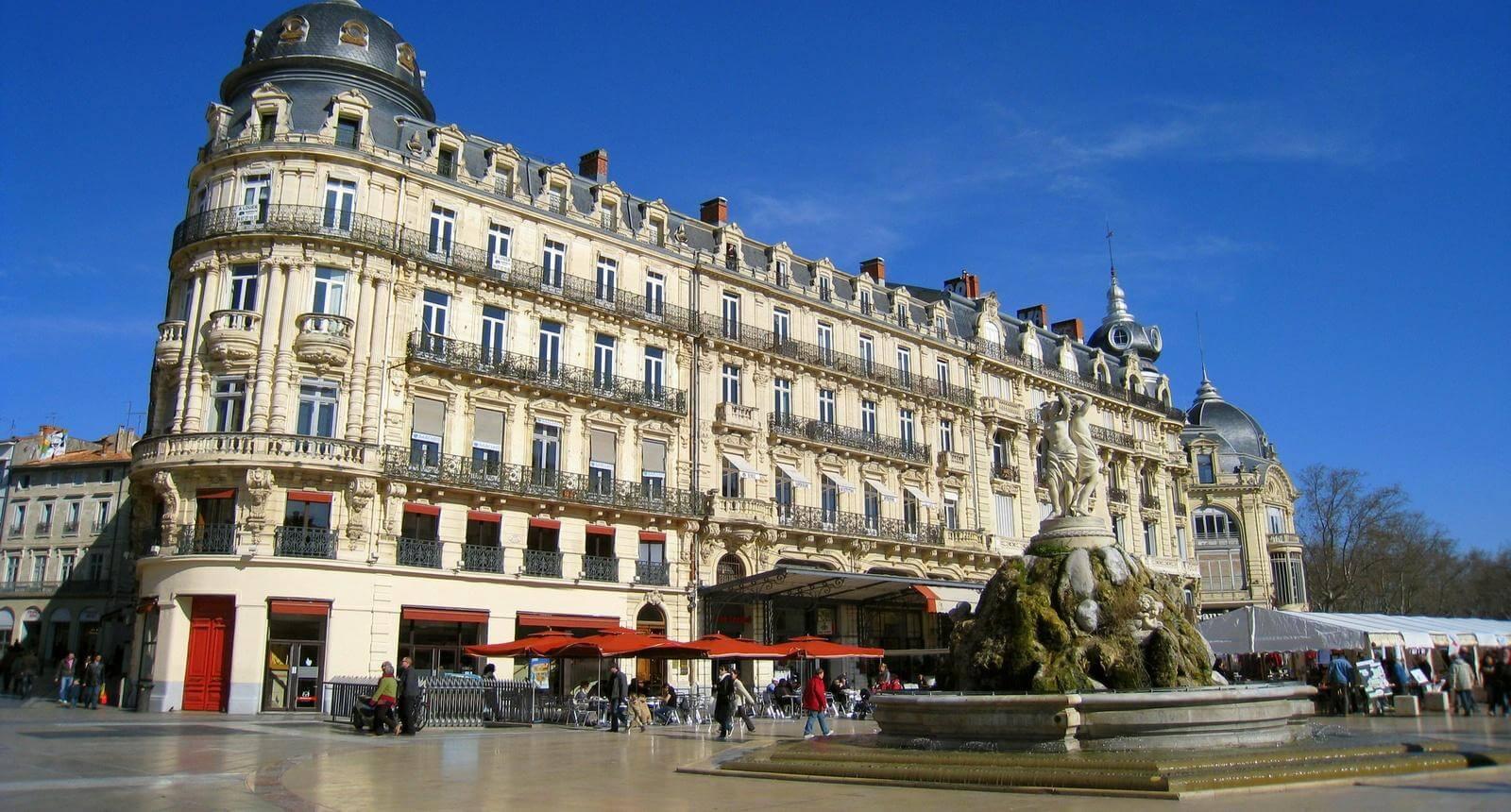 Φθηνές πτήσεις προς Montpellier