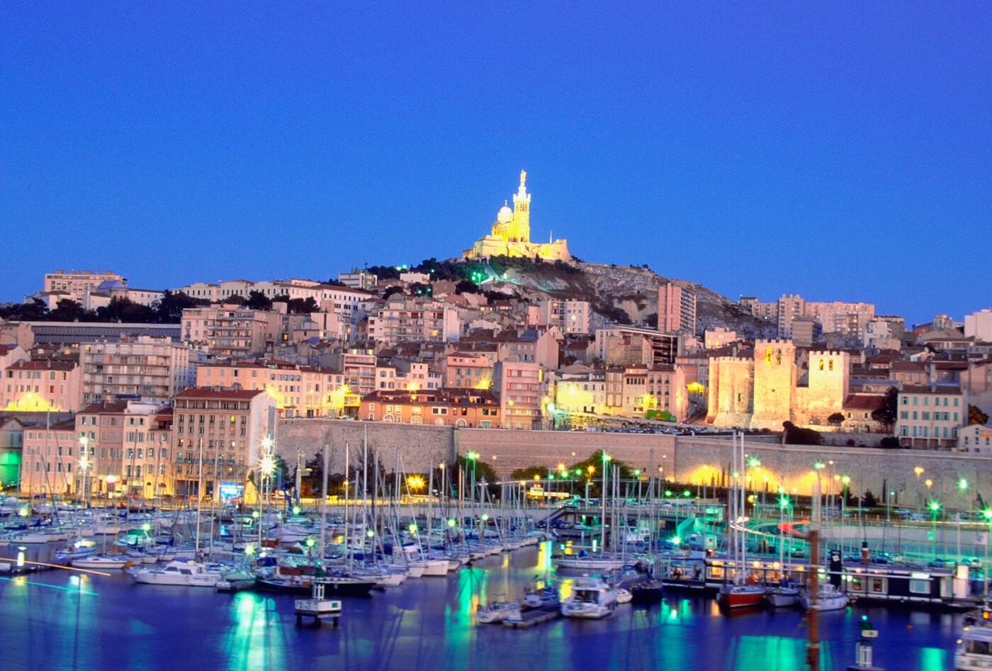 Φθηνές πτήσεις προς Μασσαλία