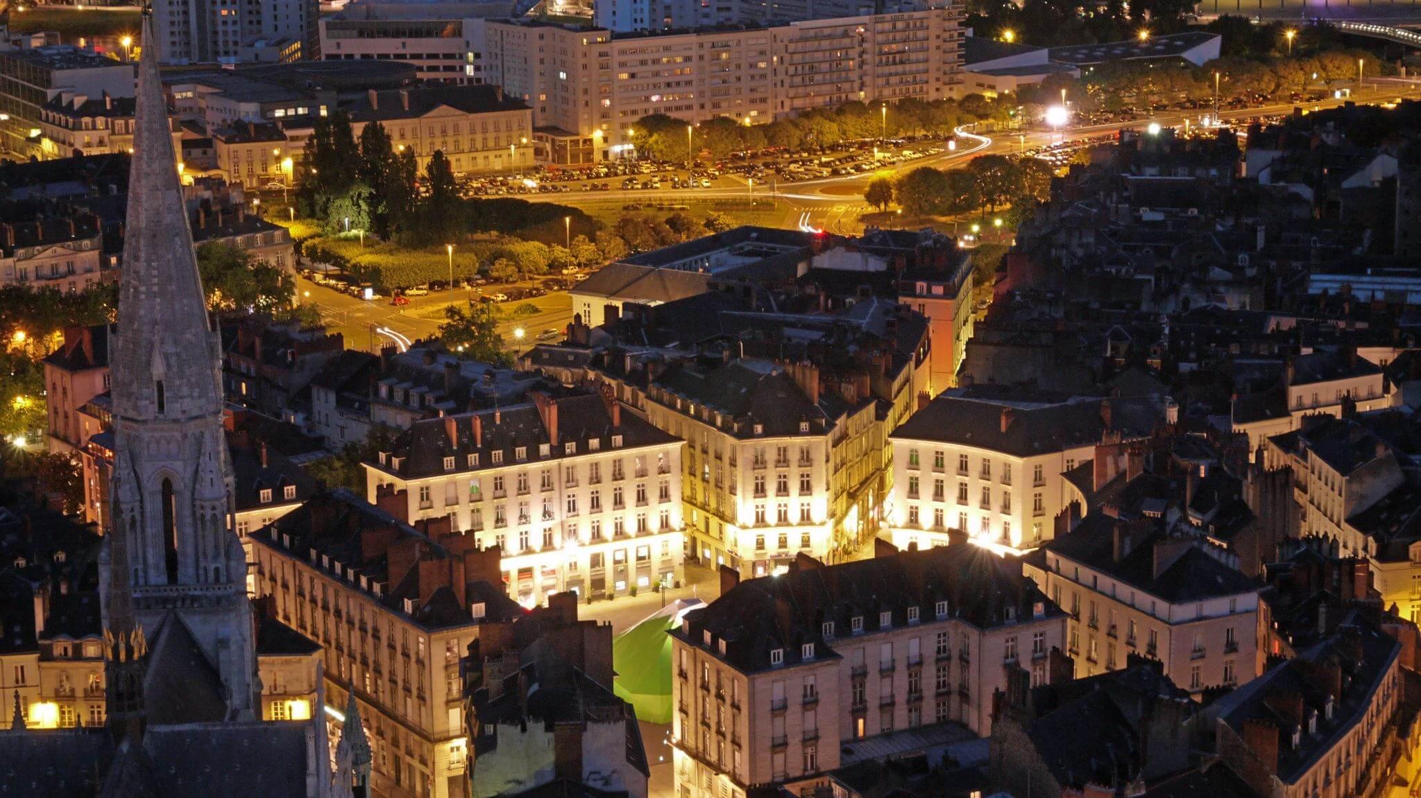 Cheap flights from Nantes
