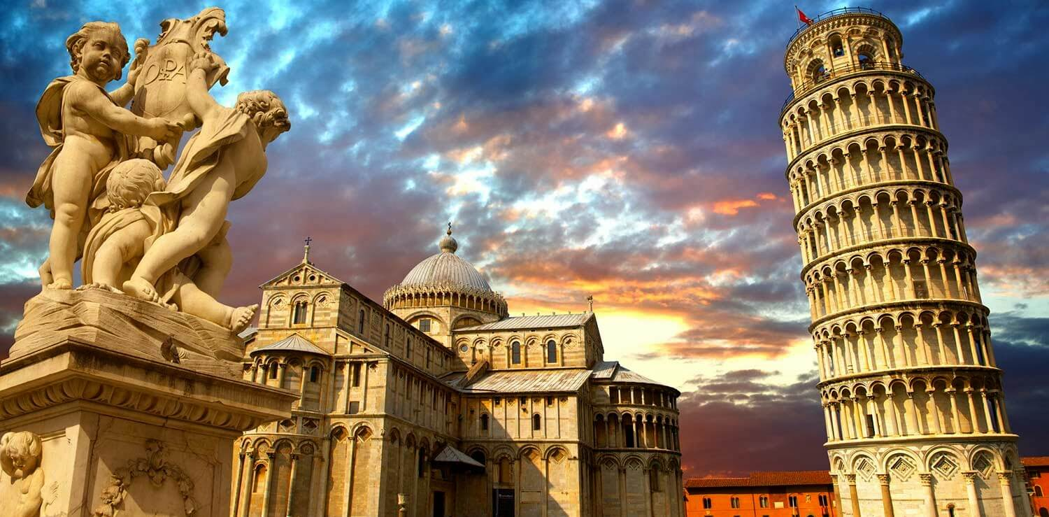 Cheap flights to Pisa
