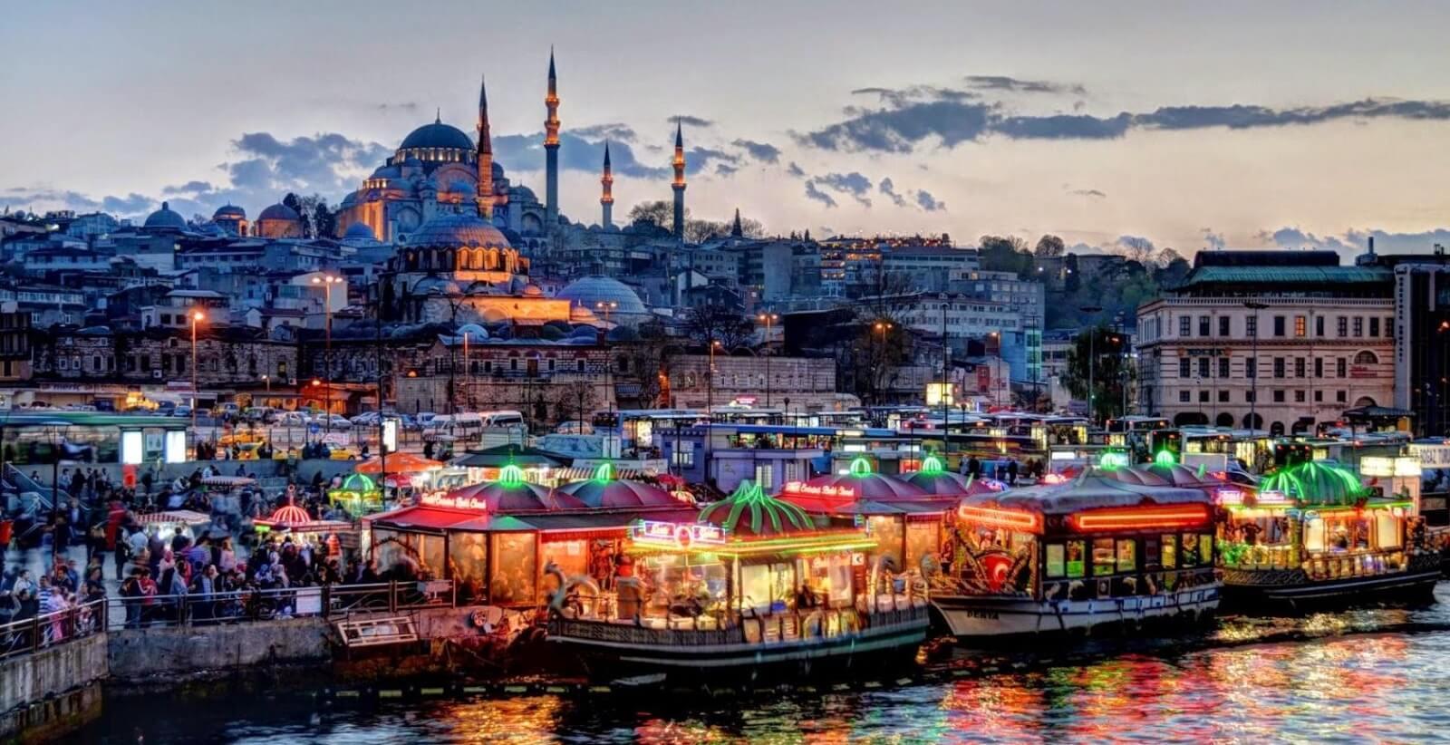 Φθηνές πτήσεις προς Κωνσταντινούπολη