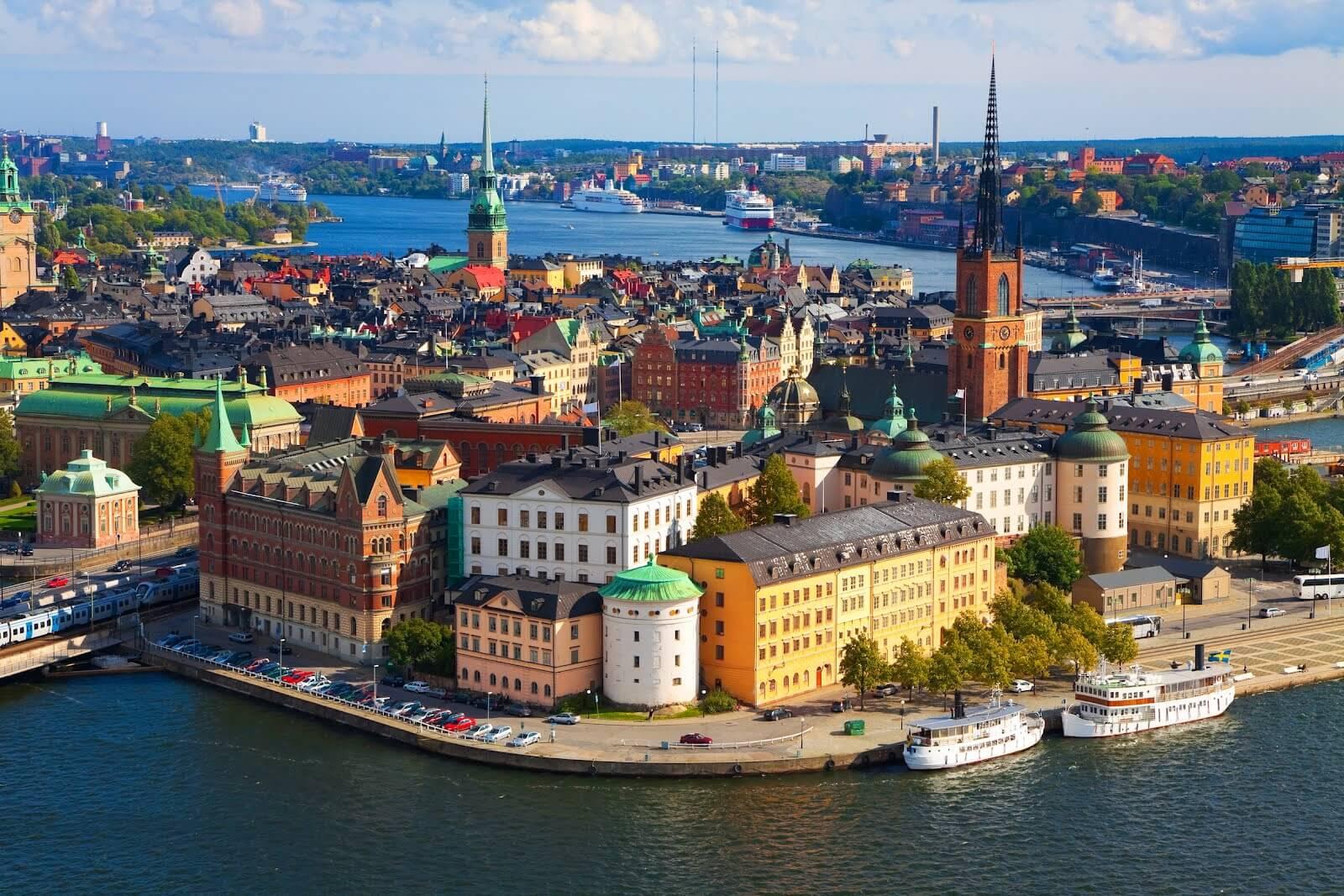 Αεροπορικά εισιτήρια Στοκχόλμη