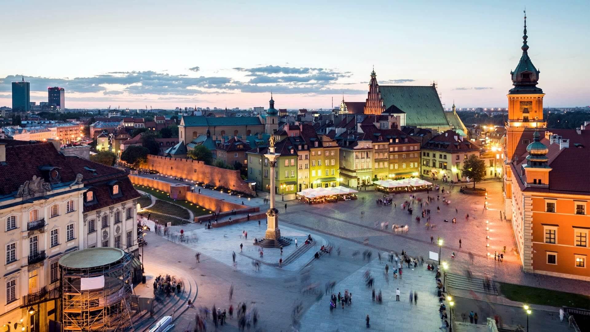 Cheap flights from Warszawa