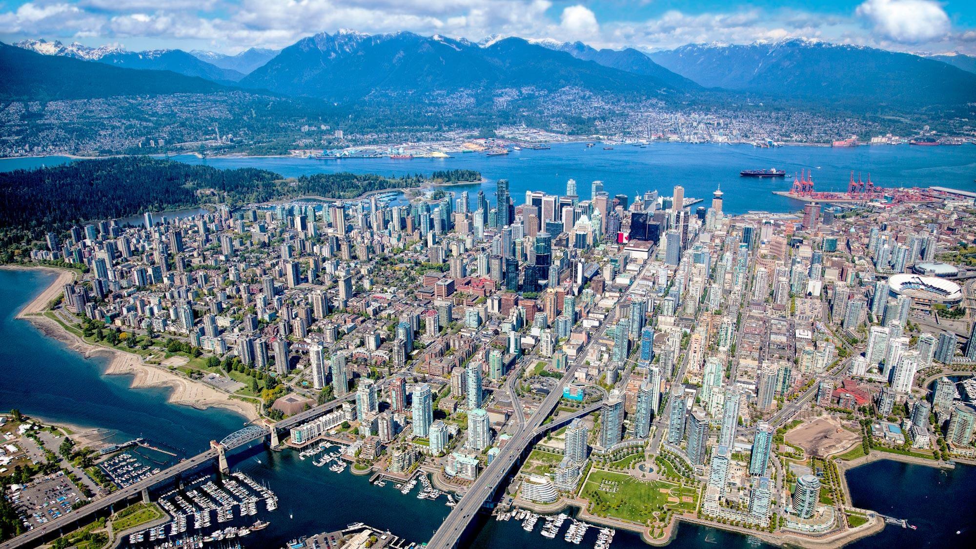 Φθηνές πτήσεις από Vancouver