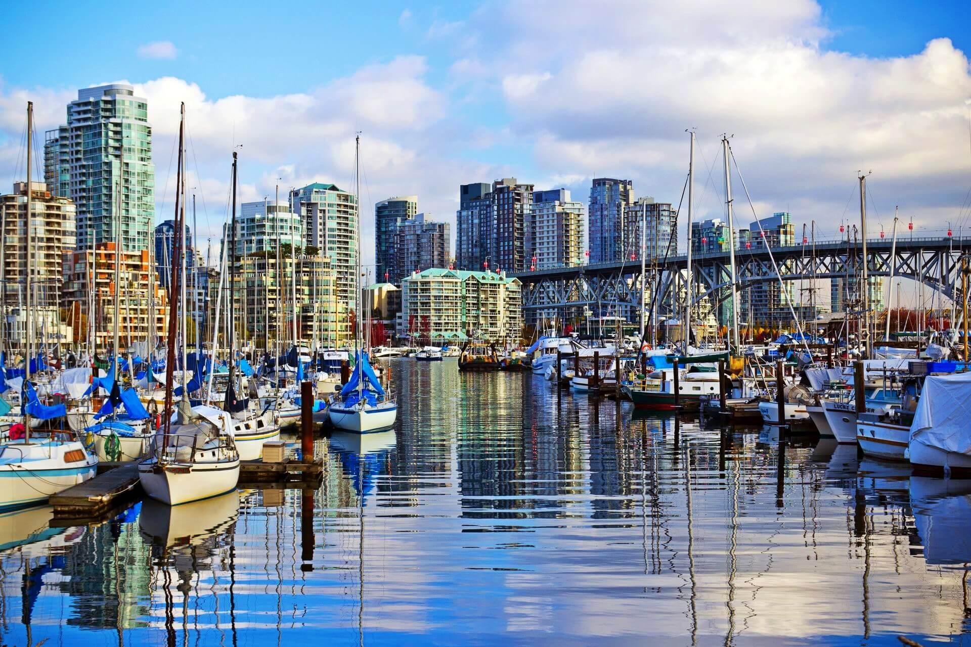Φθηνές πτήσεις προς Vancouver